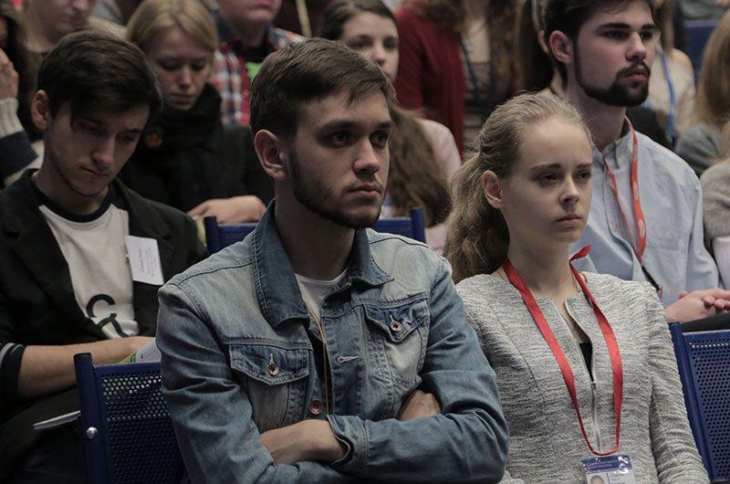 Аудитория XII Всероссийской научно-практической конференции, прошедшей 12 февраля 2015 года