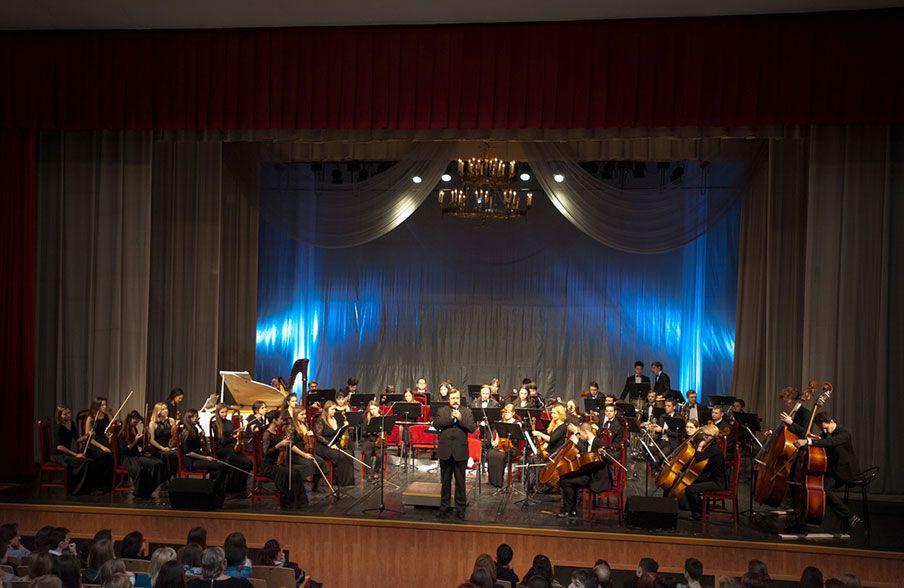 25 января 2016 год. Концерт Международного симфонического оркестра  «Таврический»