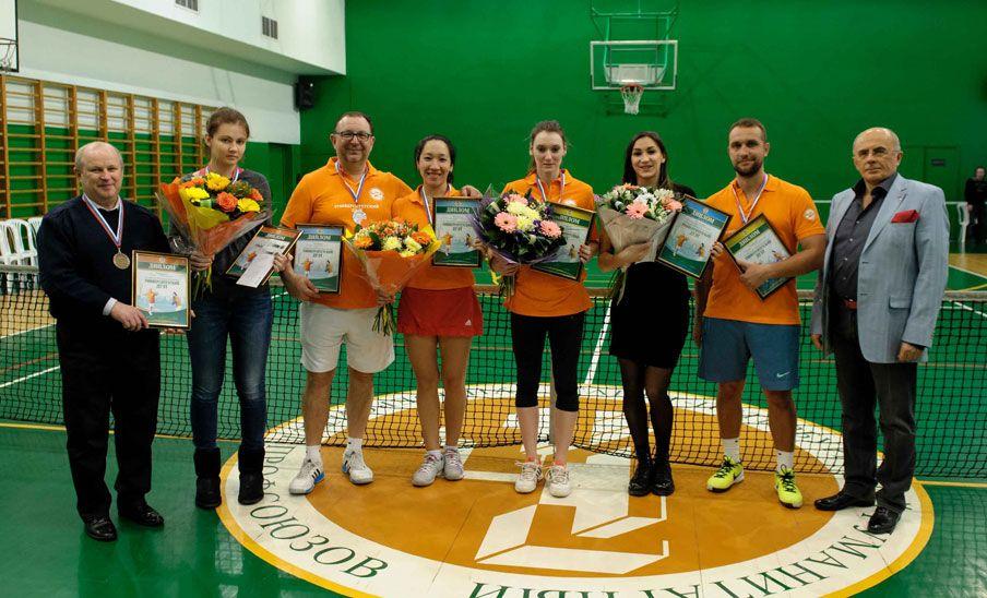6 - 8 марта 2016 год. XIX Теннисный турнир «Университетский дуэт - 2016»