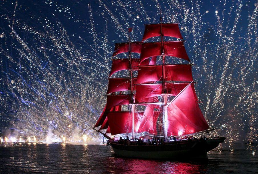 брендом во сколько плывет корабль алые паруса хорошее походное