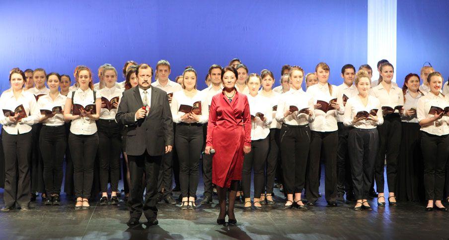 17 декабря 2016 года. Празднование 25-летия ректорской деятельности А. С. Запесоцкого